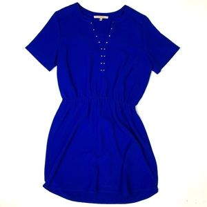 41 Hawthorn Short Dress Studded Neckline